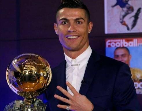 Pallone d'oro, per Ronaldo quarto trionfo