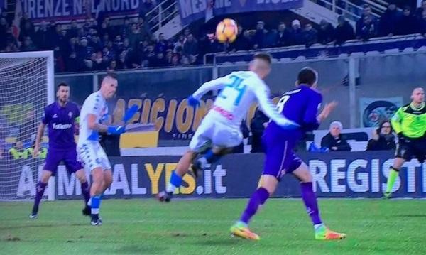 Fiorentina-Napoli 0-1 al 45′: capolavoro di Insigne