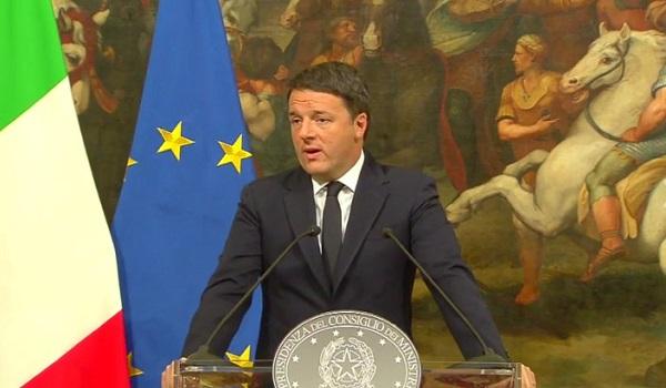 Governo, Renzi si è dimesso