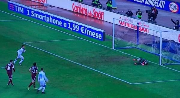Napoli-Torino 3-0 al 45′: tris Mertens, azzurri schiacciasassi