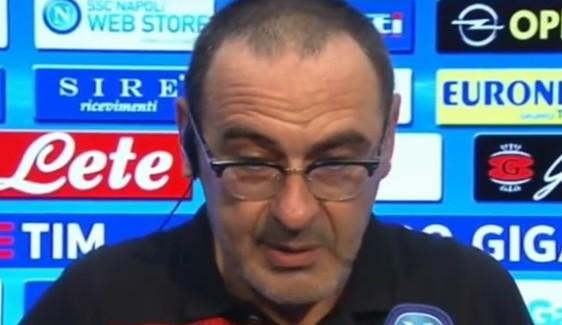"""Sarri respinge le tabelle: """"Pensiamo a una partita alla volta"""""""