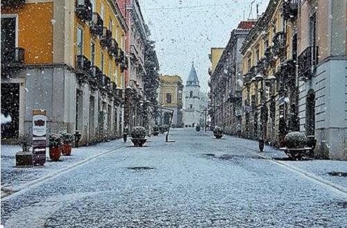 Freddo, Benevento: scuole e università chiuse per due giorni