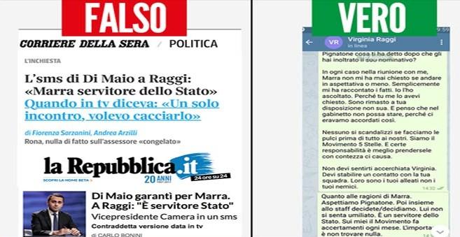 """""""Di Maio difese Marra"""". M5S contro Repubblica, Corriere e Messaggero: """"Ecco sms che li sbugiarda"""""""