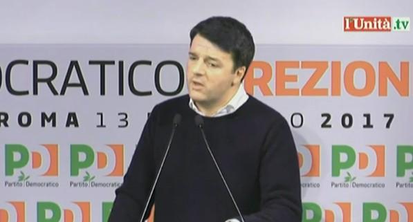 Pd, Renzi si arrende: congresso prima delle elezioni