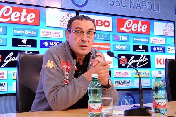 """Il Sarri furioso: """"Mai incontri fra me e la Juve, querelo chi lo scrive"""""""