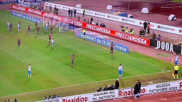 Napoli-Genoa 0-0 al 45′: occasioni Koulibaly e Insigne