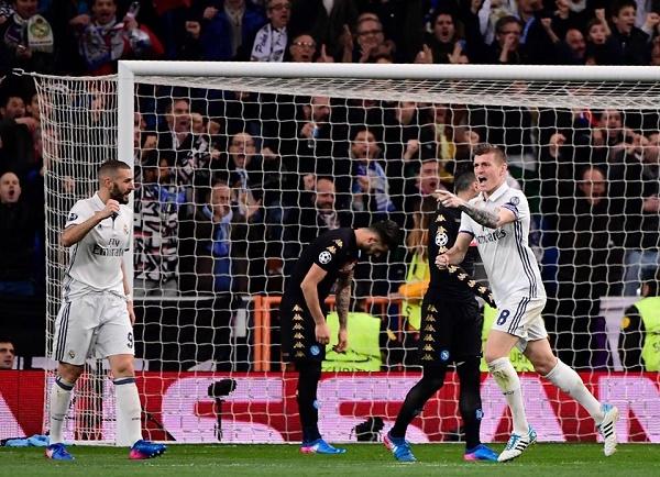 Il Napoli si illude poi cede al Real Madrid