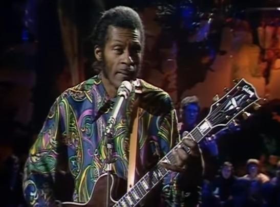 Addio Chuck Berry, leggenda del rock