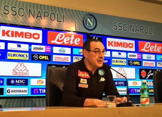"""Empoli-Napoli, Sarri suona la carica: """"Il secondo posto è possibile"""""""