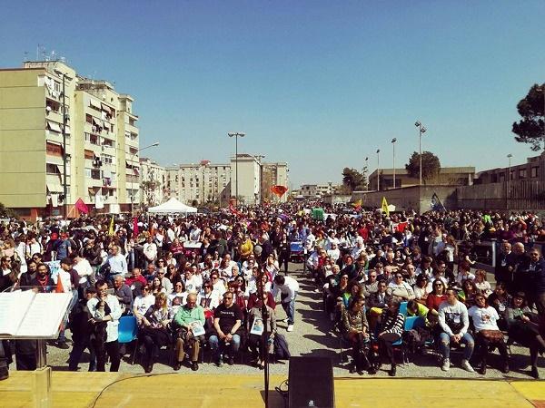 Giornata della memoria, a Ponticelli in 20mila marciano contro la camorra