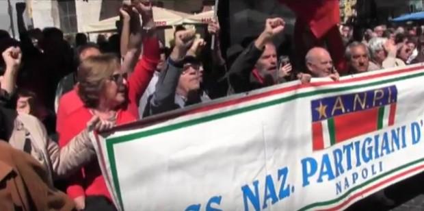 Napoli, 25 aprile: i partigiani promuovono un corteo