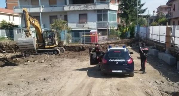 Afragola, pizzo a cantiere edile: due arresti