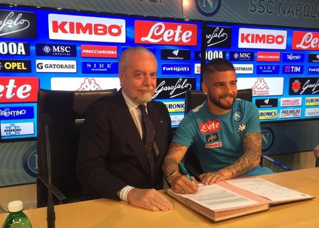 """Napoli, Insigne firma fino al 2022: """"Ora è la bandiera del club"""""""
