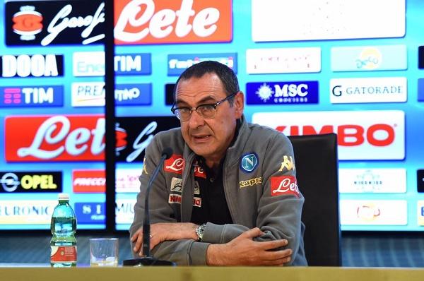 """Napoli-Juventus, Sarri col dubbio Reina: """"Decide lui. Sfidiamo i più forti, anche politicamente"""""""