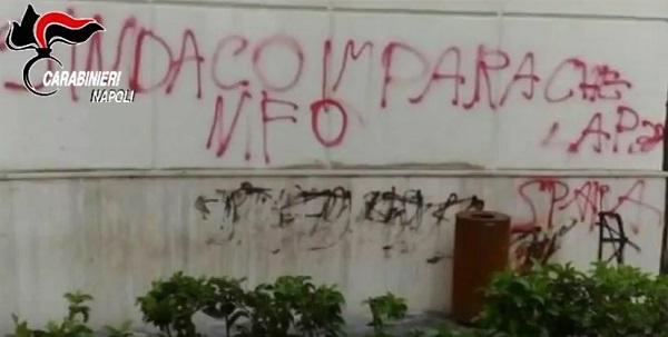 """Attentati a sedi istituzionali a nord di Napoli, arrestati 4 giovani della Nfo: """"Gruppo eversivo"""""""