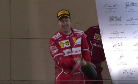 Formula uno, Vettel domina gp Bahrain