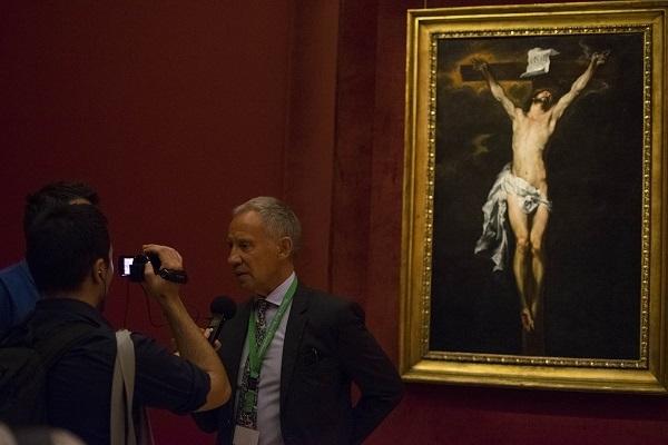 """Museo di Capodimonte, ecco il """"Cristo in Croce"""" di Van Dyck"""