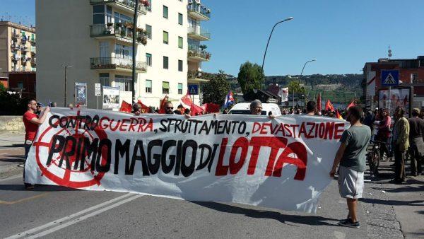"""Napoli, il primo maggio dei movimenti a Bagnoli: """"Contro sfruttamento e devastazioni"""""""