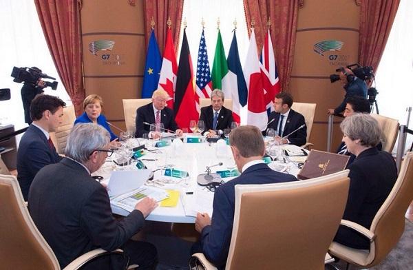 Effetto kamikaze sul G7 di Taormina, i potenti si accordano solo sul terrorismo: clima, intesa lontana