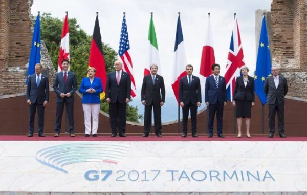 G7 Taormina, è flop su clima e migranti