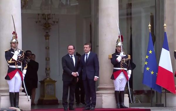 """Un banchiere all'Eliseo, si insedia Macron: """"Il mondo ha bisogno di una Francia forte"""""""