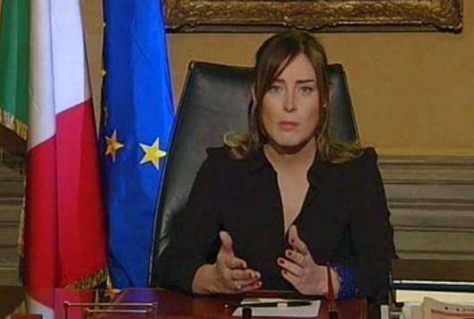 """Maria Elena Boschi(Pd): """"Non rinuncio alle querele contro il Movimento 5 Stelle"""""""