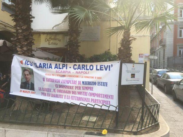 """Maurizio Estate ucciso per """"non essersi fatto i fatti suoi"""", Napoli celebra il giovane eroe"""