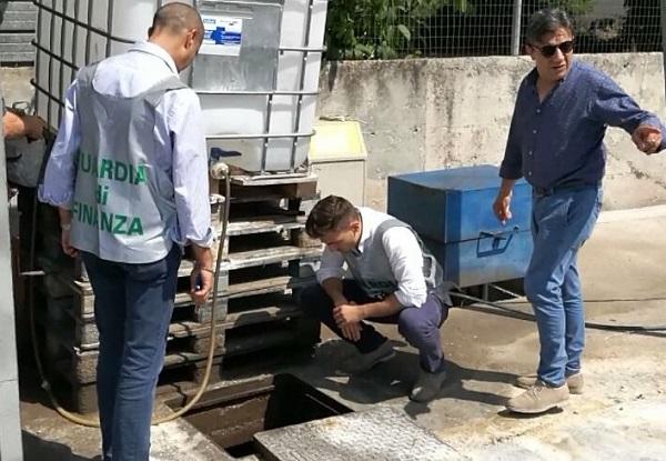 Roccaromana, scoperto impianto abusivo di carburante