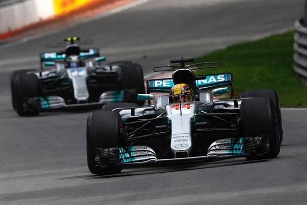F1, doppietta Mercedes a Montreal