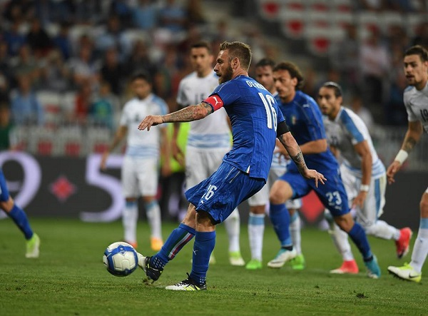 Uruguay impalpabile, l'Italia cala il tris