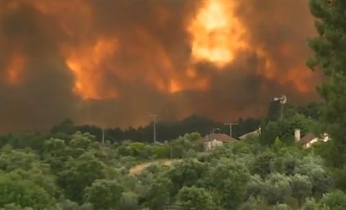 Portogallo, incendio devasta foresta a Pedrógão Grande: decine di vittime