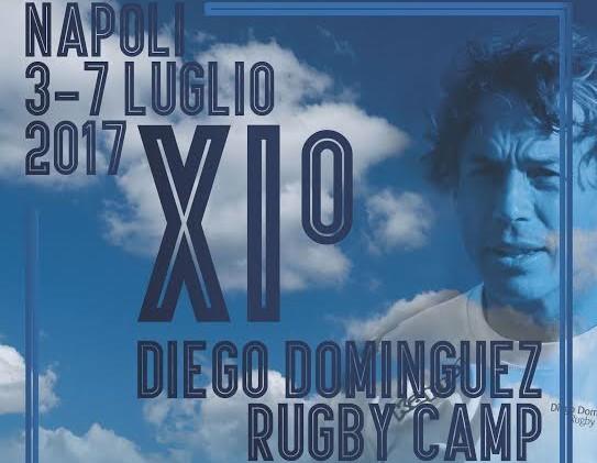 Rugby, a Napoli il camp di Diego Dominguez