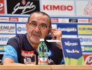 """Obiettivo scudetto, Sarri frena: """"Campionato più competitivo"""""""
