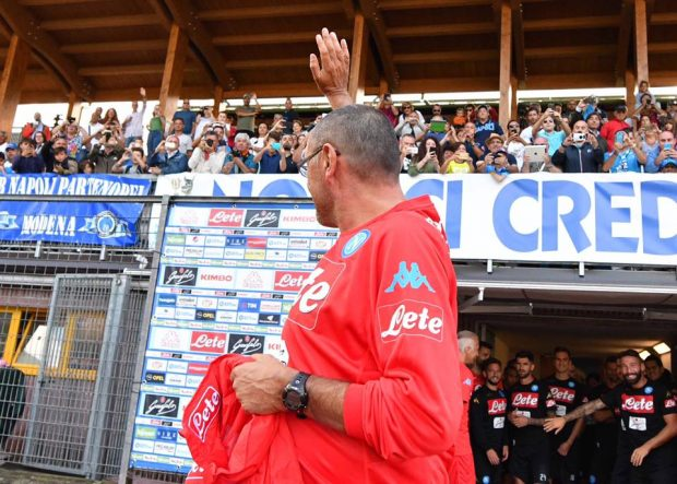 A Dimaro parte l'avventura del Napoli 2017/18, di Mertens il primo gol