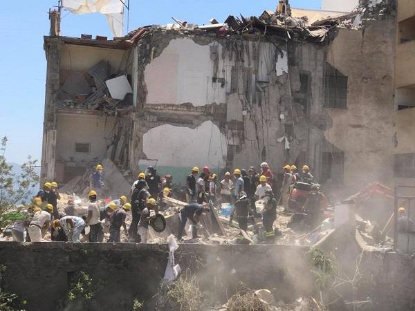 Crollo a Torre Annunziata, recuperati gli 8 corpi delle vittime