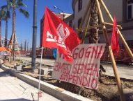 Napoli, 3 mesi senza stipendi: 27 operai bloccano il cantiere di via Marina