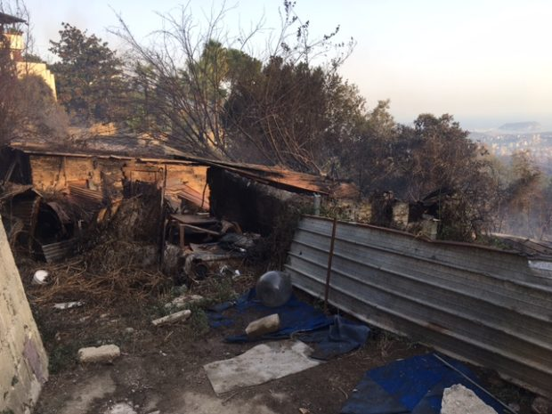 Incendio Camaldoli, sequestrata l'area