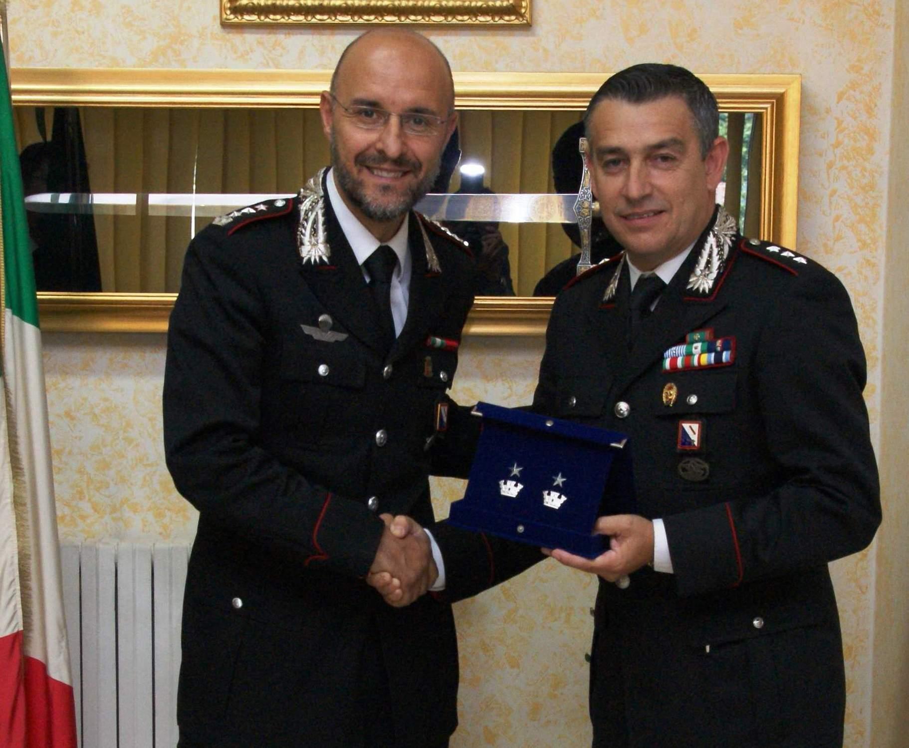 Mirabella Eclano, il Comandante dei Carabinieri promosso Maggiore