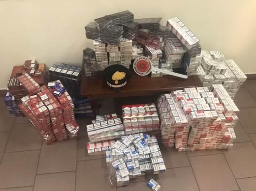 Bellona, sequestrati 3 mila pacchetti di sigarette di contrabbando