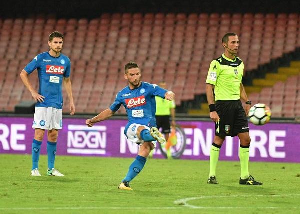 Ok l'ultimo test precampionato, il Napoli stende l'Espanyol
