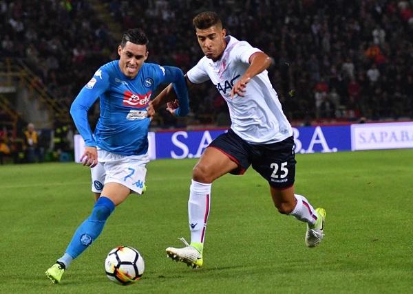 """Napoli schiacciasassi a Bologna, è primo con """"la regola del 3"""""""