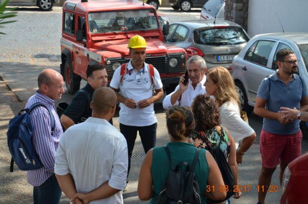 Terremoto Casamicciola, i sopralluoghi del Cfs e dell'Ordine degli ingegneri