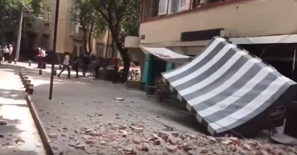 Nuovo sisma in Messico: magnitudo 7.1, crolli e vittime