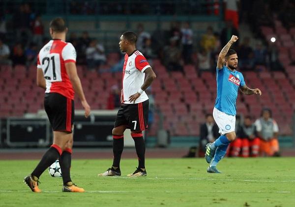 Riscatto Napoli, tris al Feyenoord