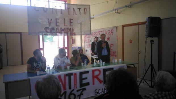 """Lo """"sciopero alla rovescia"""" dei disoccupati di Scampia"""