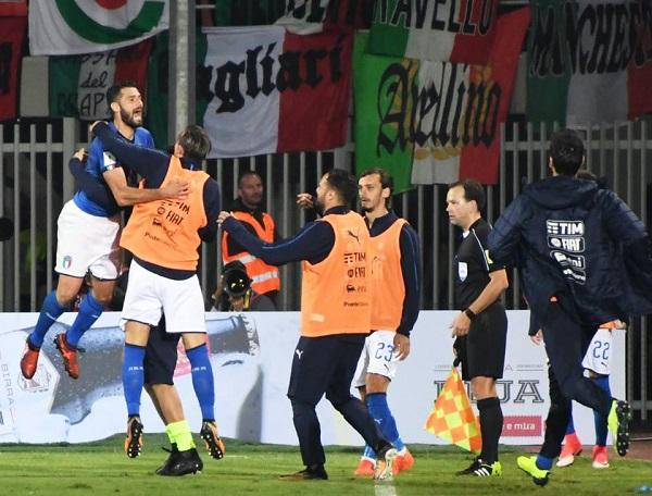 Candreva beffa l'Albania, Italia testa di serie ai play-off