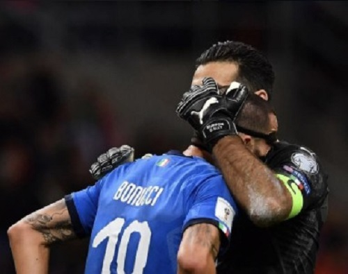 Disastro Italia, fuori dal mondiale dopo 60 anni