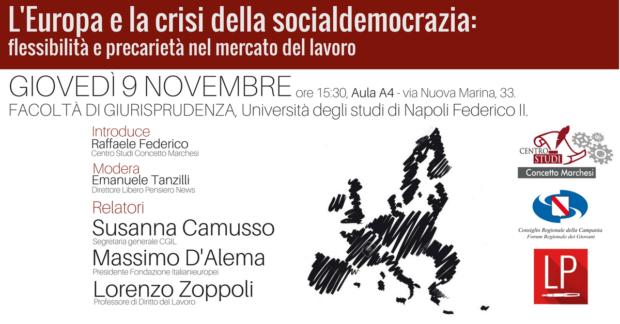 Napoli, giovedì prossimo Camusso e D'Alema all'Università Federico II