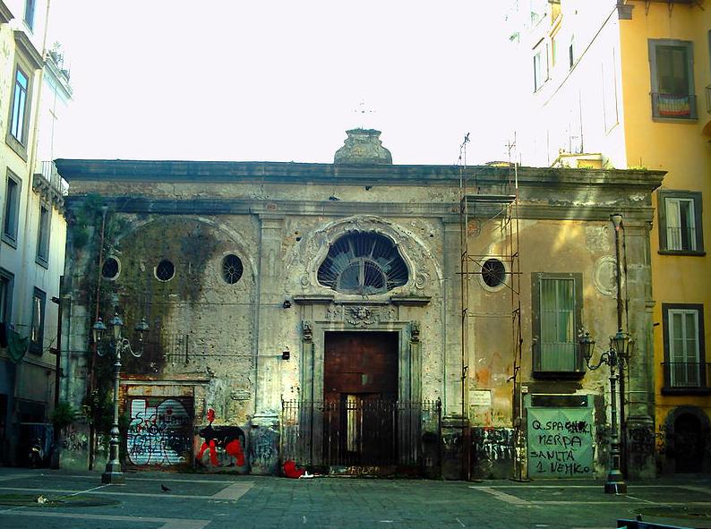 Napoli, partono i lavori per il  restauro della Chiesa di largo Banchi Nuovi
