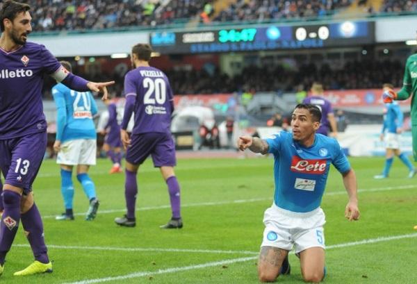 Napoli bloccato dalla Fiorentina, sorpasso mancato